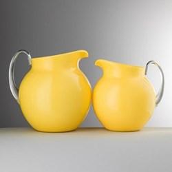 Pallina Acrylic jug, 1.6 litre, enamel yellow