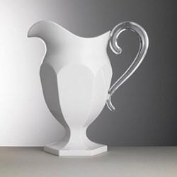 Roberta Acrylic jug, 1.2 litre, white