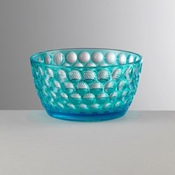 Lente Acrylic small bowl, 7cm, turquoise