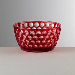 Lente Acrylic small bowl, 7cm, red