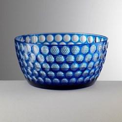 Lente Acrylic salad bowl, 12cm, blue