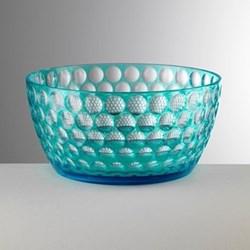 Lente Acrylic salad bowl, 12cm, turquoise