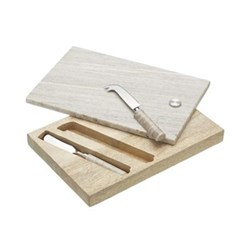 Cheese board and knife set 19 x 12cm