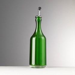 Bona Acrylic oil cruet, 29.5cm, green