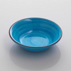 Saint Tropez Melamine plate, 19cm, turquoise