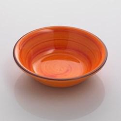 Saint Tropez Melamine plate, 19cm, orange