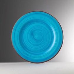 Saint Tropez Melamine plate, 27cm, turquoise