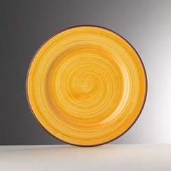 Saint Tropez Melamine plate, 27cm, yellow