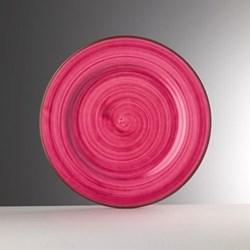 Saint Tropez Melamine plate, 27cm, fuschia