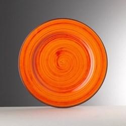 Saint Tropez Melamine plate, 27cm, orange