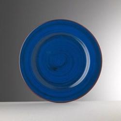 Saint Tropez Melamine plate, 27cm, blue