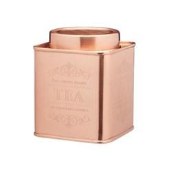 Le'Xpress Tea tin, copper finish