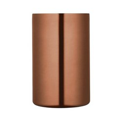 Bar Craft Wine cooler, double walled copper finish