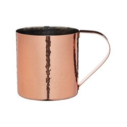 Bar Craft Moscow mule mug, 550ml, hammered copper finish