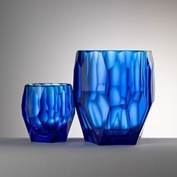 Filippo Acrylic ice bowl, 14.3cm, blue