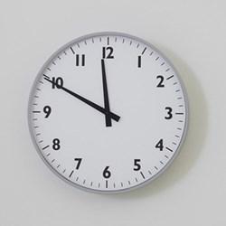 Wall clock 46.5 x 8cm