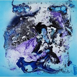 Example Artwork Spirited Sky by Fintan Whelan, 95 x 95 x 4cm
