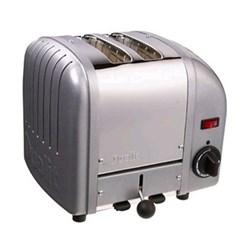 Classic Newgen toaster, 2 slot, metallic silver