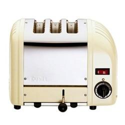 Classic Vario toaster, 3 slot, utility cream