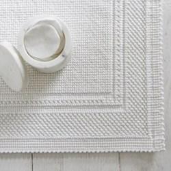 Antibes Medium bath mat, W50 x L80cm, white