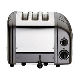 Classic Combi toaster, 2+1 slot, metallic charcoal