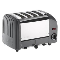 Classic Combi toaster, 2 x 2 slot, metallic charcoal