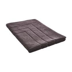 Egyptian Cotton Luxury Bath mat, 60 x 90cm, graphite
