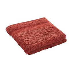 Egyptian Luxury Towel Face cloth, 33 x 33cm, burnt red egyptian cotton