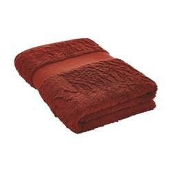 Egyptian Luxury Towel Bath sheet, 91 x 167cm, burnt red egyptian cotton