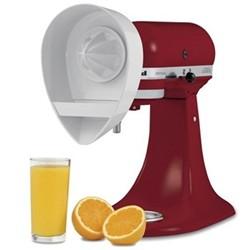 Citrus juicer attchment for mixer