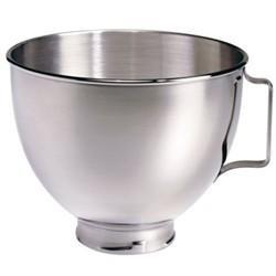 Polished bowl with handle for mixer 4.5 litre