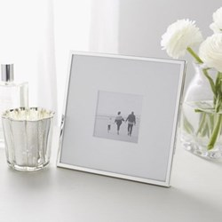 Fine Silver Photograph frame, 3 x 3""