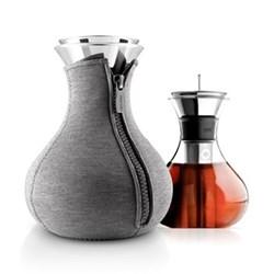 Tea maker, 1 litre, dark grey woven