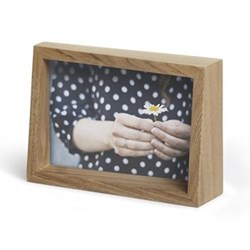 Edge Photo frame, 4 x 6'', natural