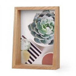 Edge Photo frame, 5 x 7'', natural