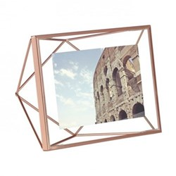 Prisma Photo frame, 4 x 6'', copper