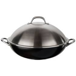 Ultimum - Forged Aluminium Wok, 35cm, stainless steel handle