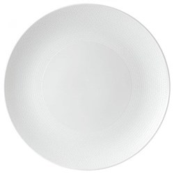 Gio Serving platter, 31cm, white/ bone china