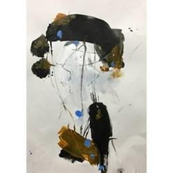 Example Artwork Encounter XVI by Nick Malone, 29 x 42cm