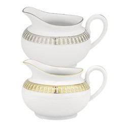 Plumes Or Creamer large, 25cl