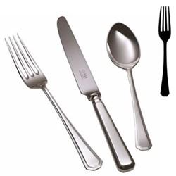 Grecian Dessert fork, stainless steel