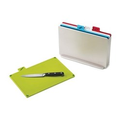 Index Colour-coded chopping board set, silver