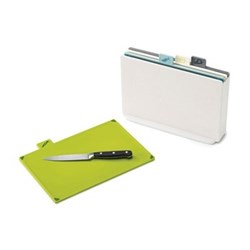 Colour-coded chopping board set