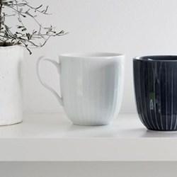 Hammershoi Cup, H9.5 x W12.5cm - 33cl, white