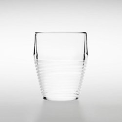Timo Set of 2 tumblers, D8.5 x H11.5cm, white, string