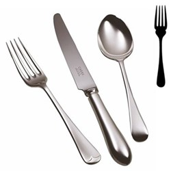 Old English Fish fork, stainless steel
