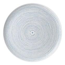 Ellen DeGeneres - Polar Blue Dots Platter, 32cm