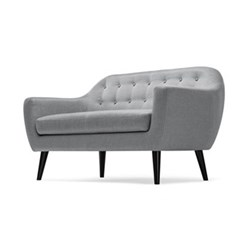 Ritchie 2 seater sofa, H86 x W148 x D85cm, pearl grey
