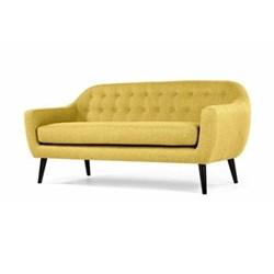 Ritchie 3 seater sofa, H86 x W188 x D85cm, ochre yellow