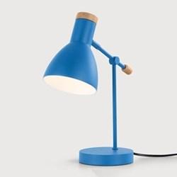 Bedside table lamp Shade D12.5 x H17cm, Base D13 x H2.5cm, Stem 23cm